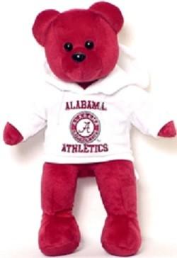 """NCAA-14"""" Hoodie Bear-2"""