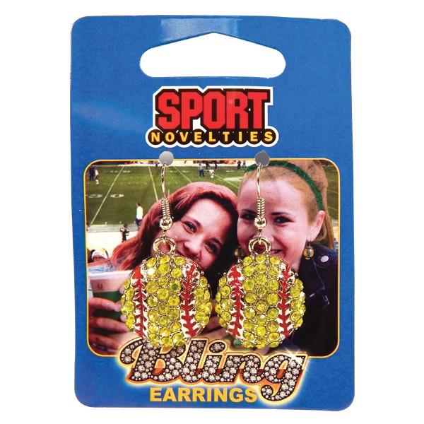 Earrings-Softball
