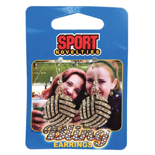 Earring-Volleyball
