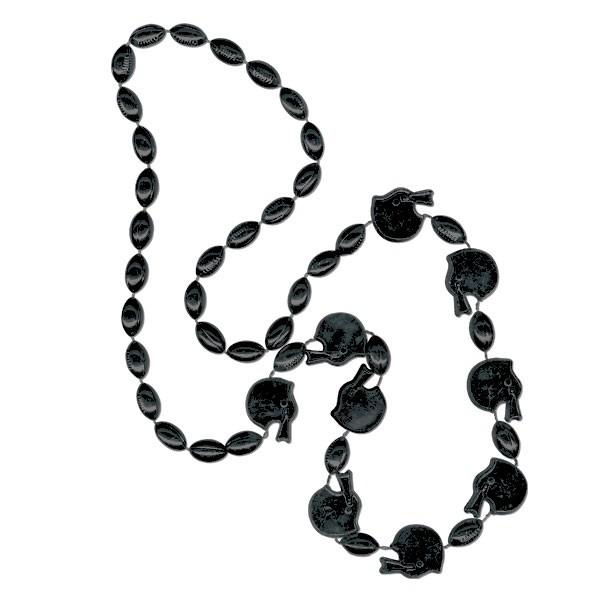 Football Helmet-shaped Mardi Gras Beads