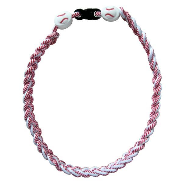 Baseball Ionic Titanium Necklace