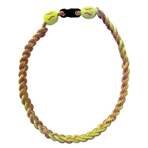 Softball Ionic Titanium Necklace