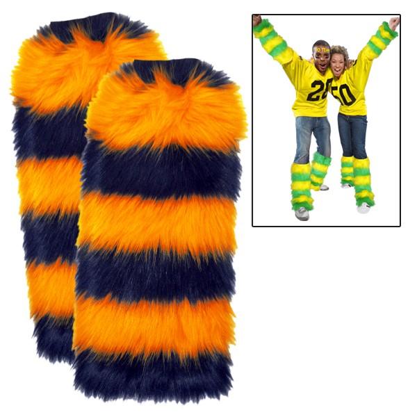 Fuzzy Fan Legwarmers