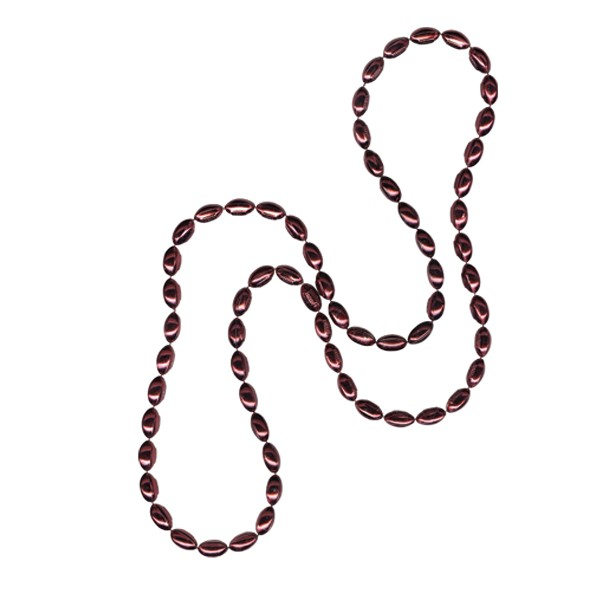 Mini Football-shaped Mardi Gras Beads