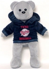 MLB-Team Color Hoodie Bear-2