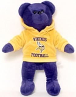 NFL-Team Color Hoodie Bear-2