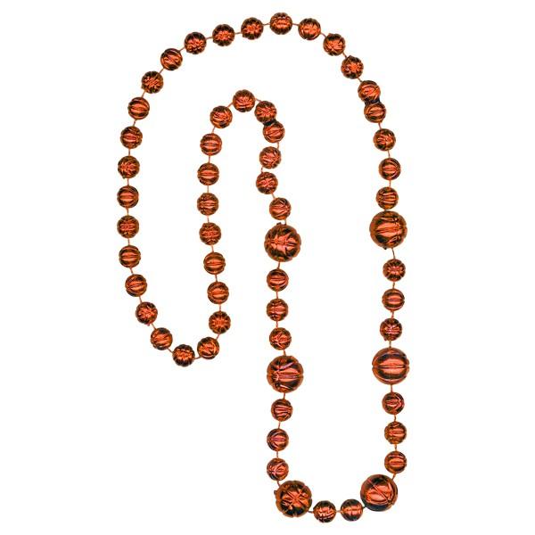 Basketball-shaped Mardi Gras Beads
