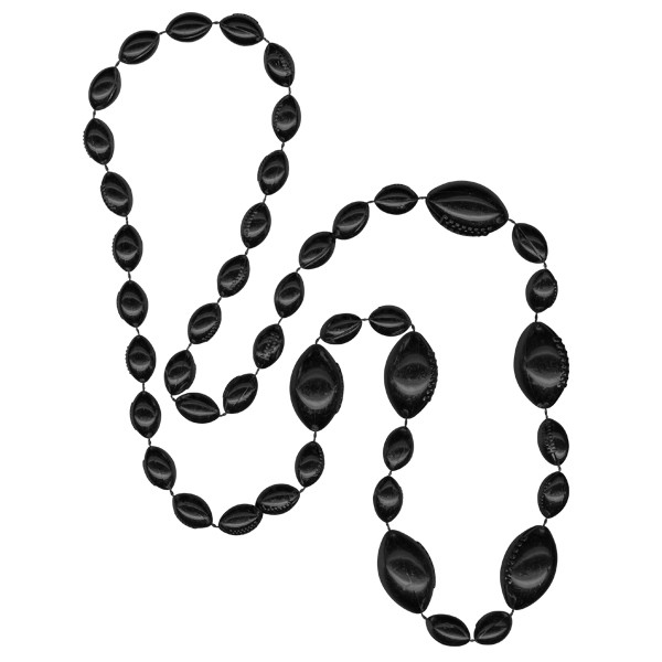 Football-shaped Mardi Gras Beads