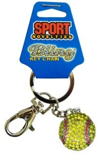 Keychain-Softball