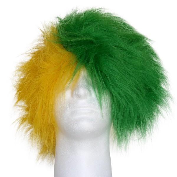 Team Color Half/Half Combo Wig