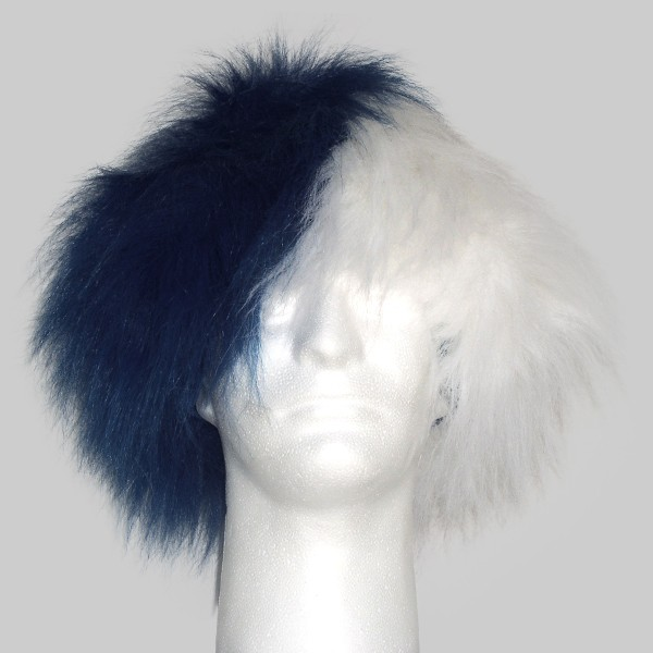 Team Color Half/Half Combo Wig