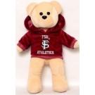 """NCAA-14"""" Hoodie Bear-3"""
