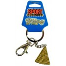 Cheese-Bling Keychain