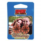 Earrings-Basketball