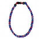 Braided Titanium Ionic Sports Necklace