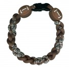 Football Ionic Titanium Bracelet