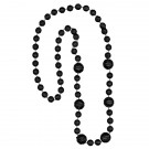 Basketball-shaped Mardi Gras Beads