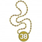 VFB Player Number Decal Football Beads