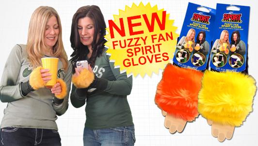 fuzzy glove banner